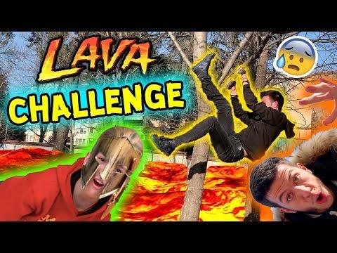 FLOOR IS LAVA CHALLENGE | ПОДЪТ Е ЛАВА | ПРЕБИХ СЕ (СМЯХ!)