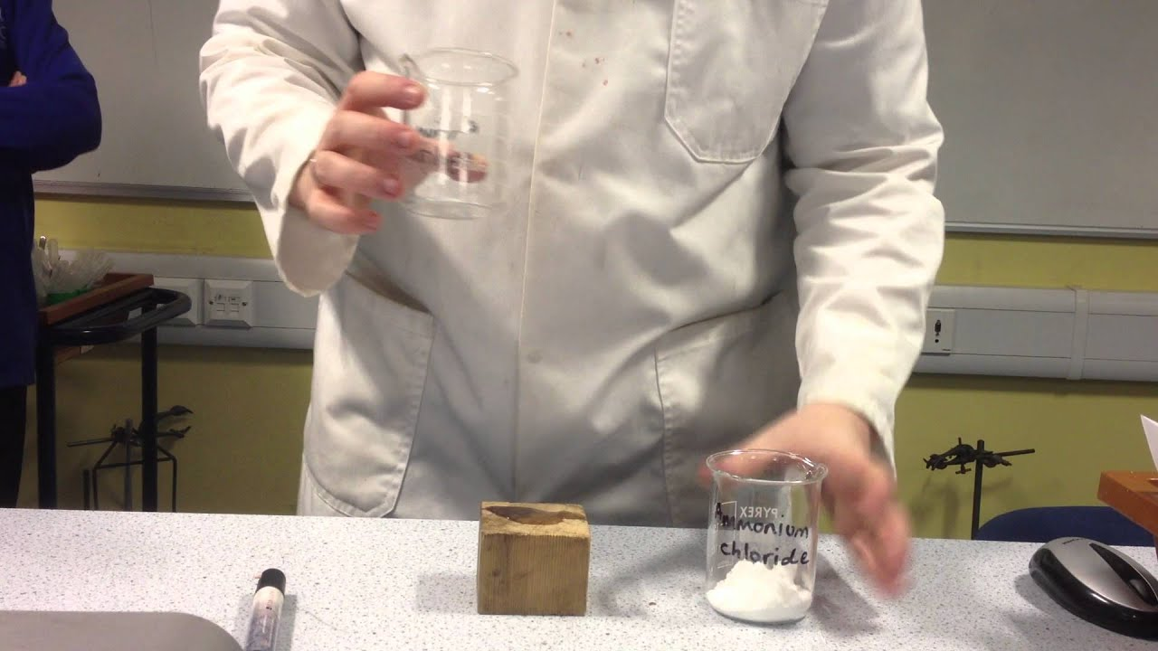 Interesting chemical experiments that can be easily repeated at home