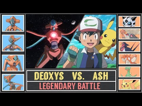 Legendary Pokémon Battle: ASH vs. DEOXYS (Pokémon Sun/Moon) - Hoenn Battle