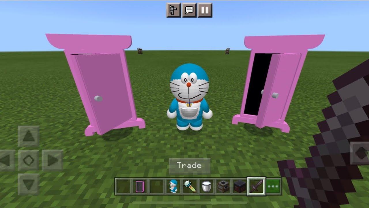 Download Doraemon MOD in Minecraft PE