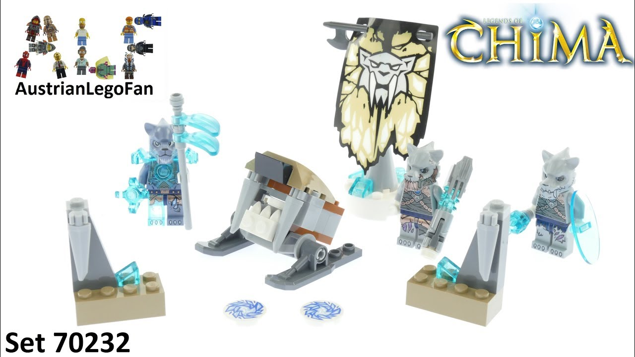 LEGO Legend of Chima Ice Accesory Set