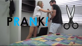 Girlfriend goes CRAZY over PRANK!