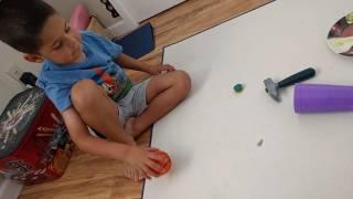 Download Video Object Havoc battle with real objects (part 1) MP3 3GP MP4