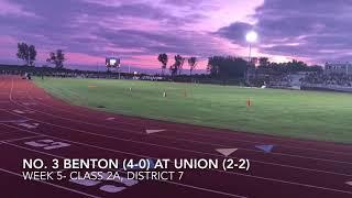 Football Highlights: No. 3 Benton at Union