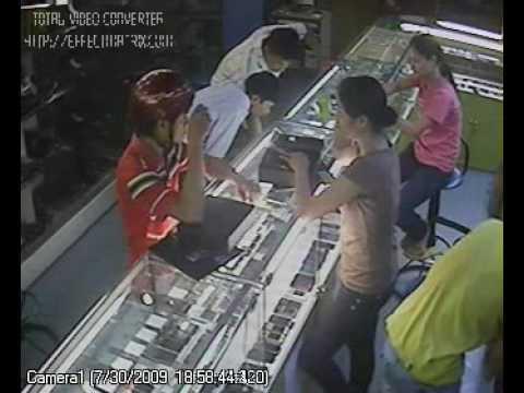 Trộm đổi máy Nokia 8800 Sapphire - 18h 56 phút ngày 30/07/2009 Tại Đức Minh Mobile