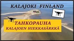 Kalajoki hiekkasärkkä / Tahkopauha, Finland - drone