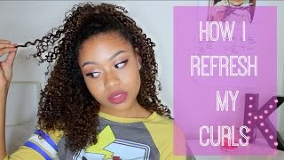 Refresh Old Curls | My Daily Routine