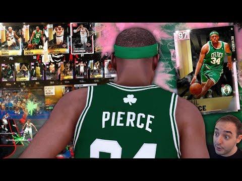 NBA 2K19 My Team PINK DIAMOND PAUL PIERCE! THIS CARD IS CRAZY GOOD!!!