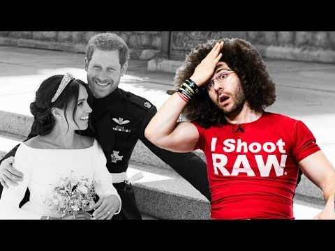 Official Royal Wedding Photos Critiqued | ARE YOU KIDDING ME!?
