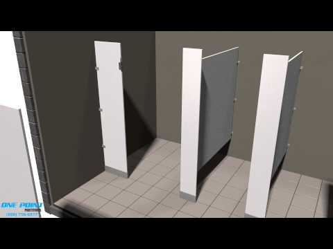 Full Download Toilet Partition Privacy Strip Installation Video