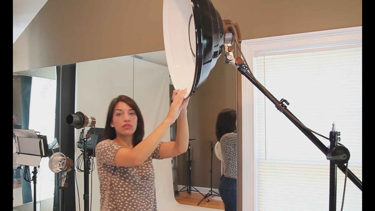 Portrait Photography Studio Tour: Strobes, Reflectors, Softboxes, Beauty Dishes, and Backdrops