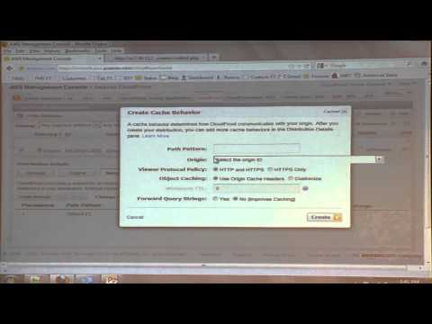 Amazon: Dynamic Content Delivery Service Demo