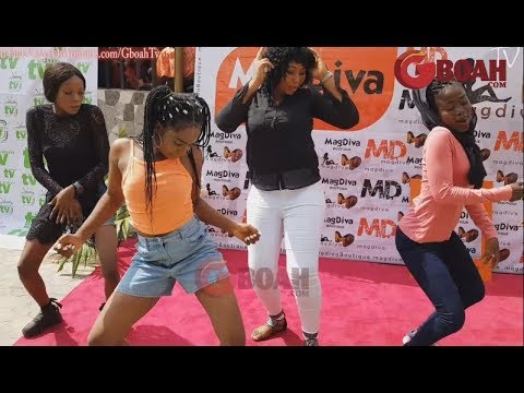 See Ibadan Shaku Shaku: Mercy Aigbe Organises Dance Competition At The Launch Of Her New Boutique