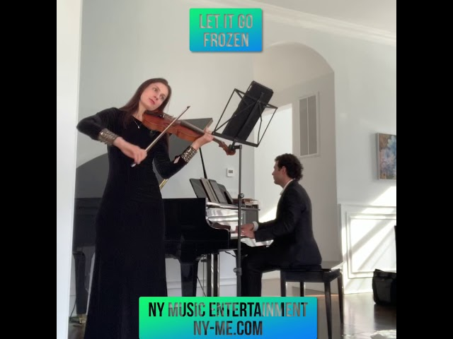 Let it Go Disney Frozen Violin and Piano sample