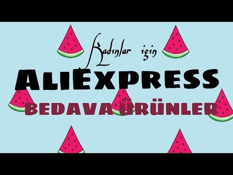 AliExpress Bedava Ürün ( mobil uygulama)