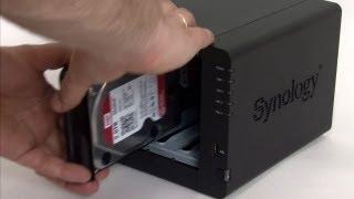 How to: Installatie van een Synology NAS met WD Red harddisks