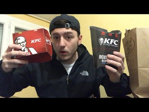 NOUVEAUTÉ KFC MÉGA DÉGUSTATION BOX MASTER REBLOCHON ET DOUBLE DOWN RACLETTE