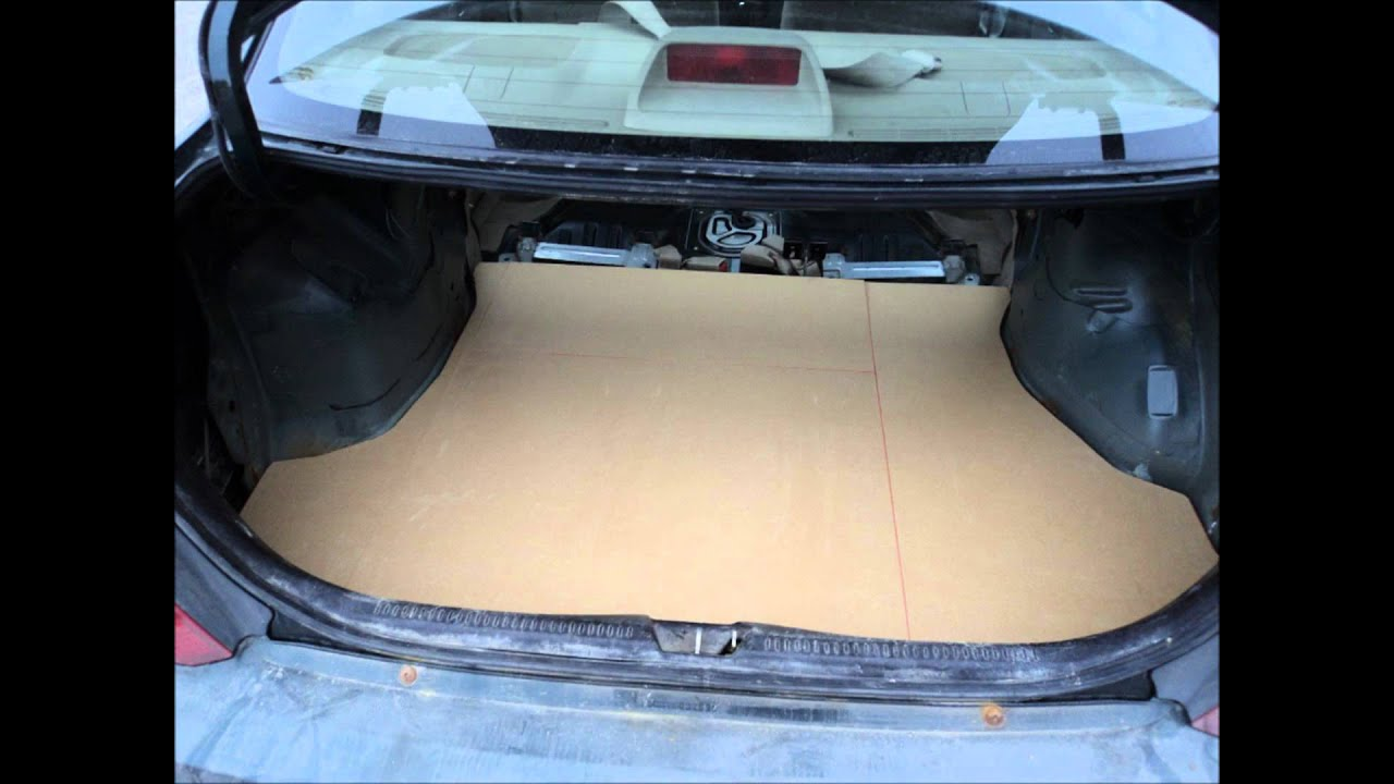 New Floor In Trunk Youtube