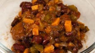 Slow-cooker Vegan Sweet Potato Chili (low Salt!)