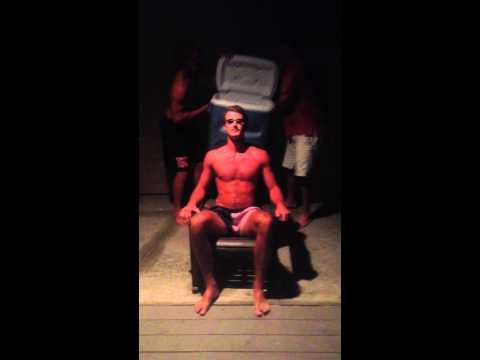 ALS Ice Bucket Challenge - Coach Luckett, Barrett Walthall, and Jake Garbuzinski