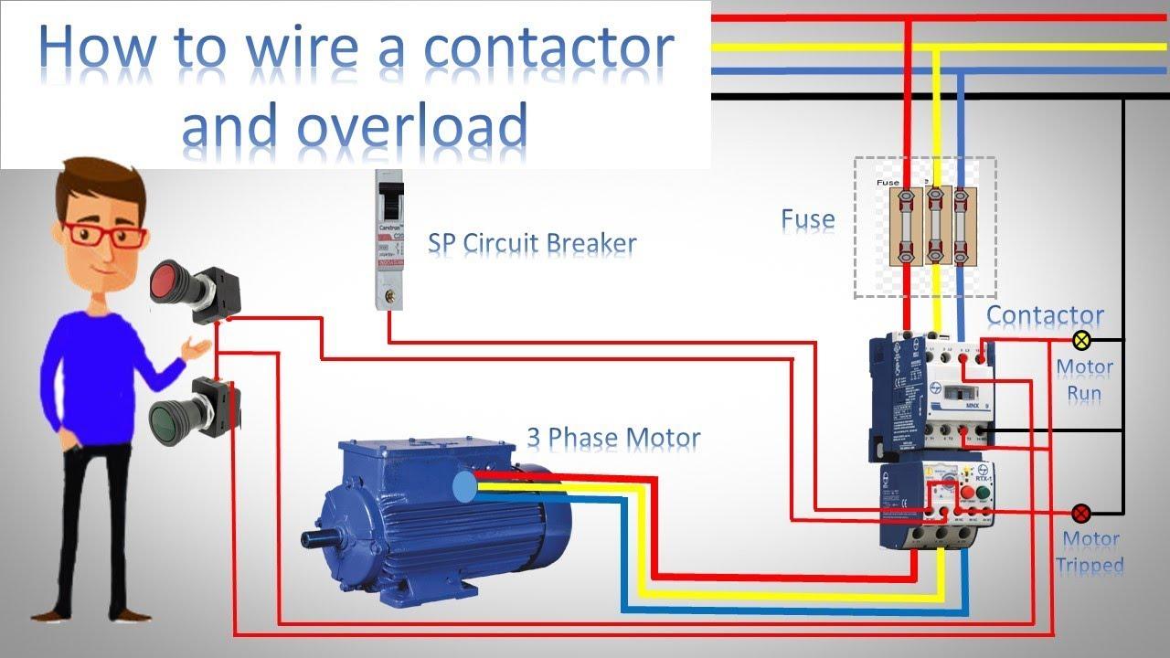 Chint Dol Starter Wiring Diagram