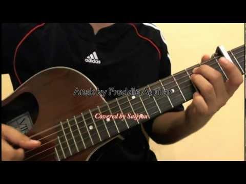 Freddie Aguilar Anak Guitar Youtube