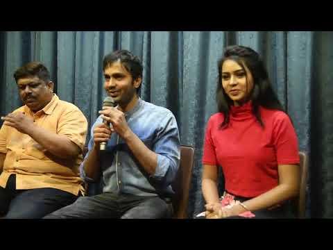 Adarsh Gunduraj  Hero & Producer Of SWARTHARATNA In Press Meet