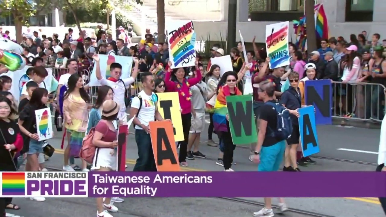 Taiwan Team in 2019 San Francisco Pride Parade