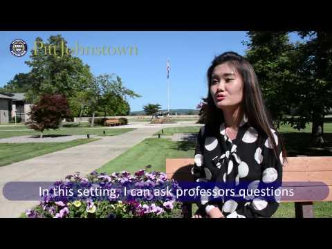 University of Pittsburgh Johnstown International Student Interview Yifan Qu