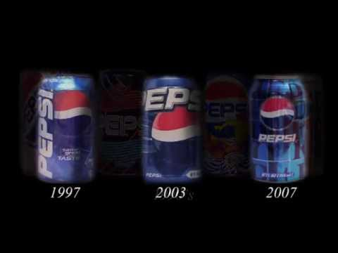 Evolution: Pepsi Cans