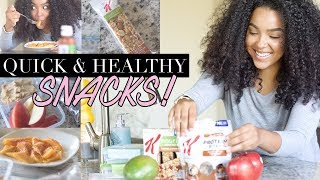 5 Quick and Healthy Snacks I Love!