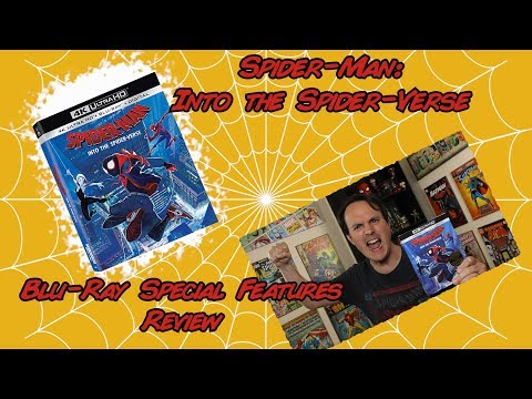 Spider-Man: Into The Spider Verse | Blu-ray Special Features Review Mp3