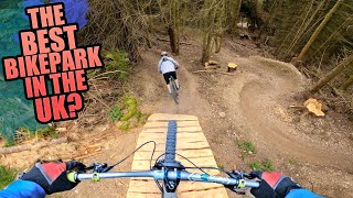 NEW MTB TRAILS AND HUGE JUMPS - THE BEST BIKE PARK IN THE UK?