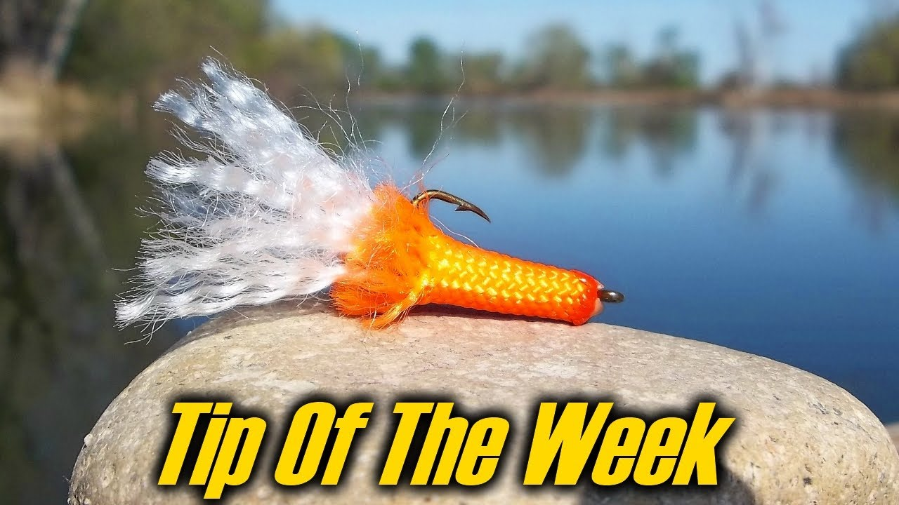 Paracord Fishing Lure Tip Of The Week E37 Youtube