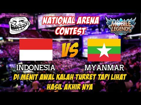 Diggie Hero Baru MVP dan Irthel Savage Indonesia vs Myanmar National Arena Contest 01112017