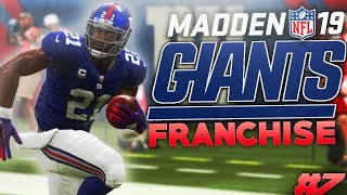 He Caught 3 Interceptions in 1 Game! Madden 19 New York Giants Franchise Ep. 7