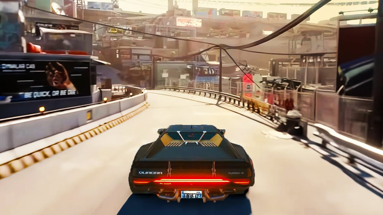 Cyberpunk 2077 NEW Extended Gameplay in 4K