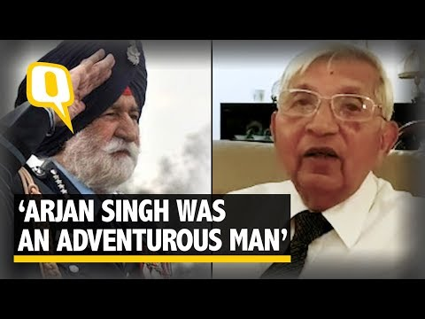 Denzil Keelor Talks of a Tactful, Adventurous Marshal Arjan Singh | The Quint