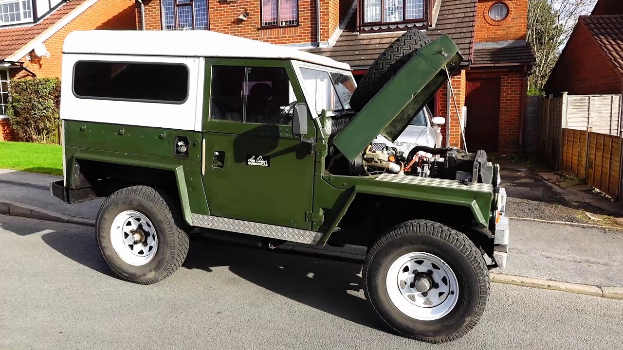 Land Rover Lightweight V8 - 1974 - YouTube