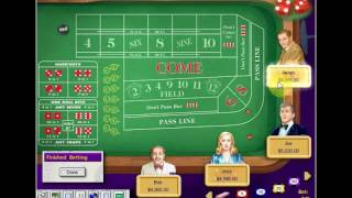 Craps Demonstration - Who Will Win?