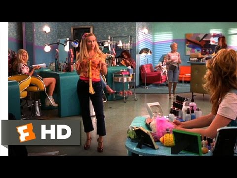 "Legally Blonde (9/11) Movie CLIP - The ""Bend & Snap"" (2001) HD Mp3"