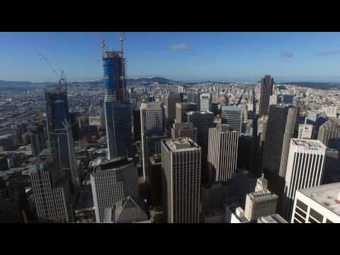 San Francisco Drone Video--March 2017