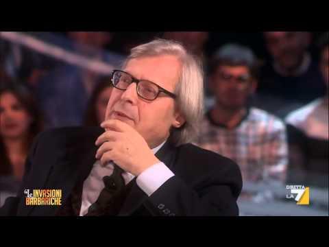 L'intervista barbarica a Vittorio Sgarbi