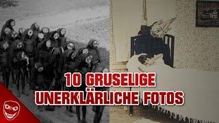 Die 10 gruseligsten Fotos, die nicht erklärt werden können!