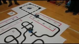 全港mBot機械人挑戰賽2016 冠軍隊 聖貞德中學 比賽精