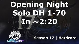 [Diablo 3] Season 17 1-70 Leveling Gameplay Highlight