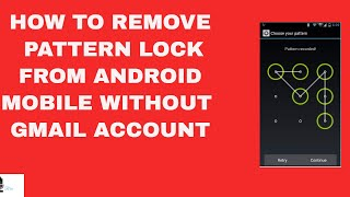 How to unlock pattern or pin lock without Google account I No USB Debugging