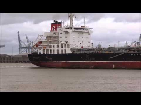 Thames Shipping by Richie Sloan, The AMI Products Tanker.
