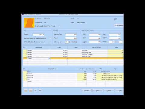 IRIS Payroll Business Software Demonstration