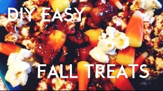 DIY Fall Snacks Thumbnail